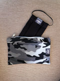 Alpinist Camouflage - Handmade Mask Pouch