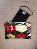 Christmas Ornaments - Handmade Mask Pouch