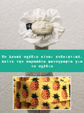 Pineapple - Handmade Scrunchie