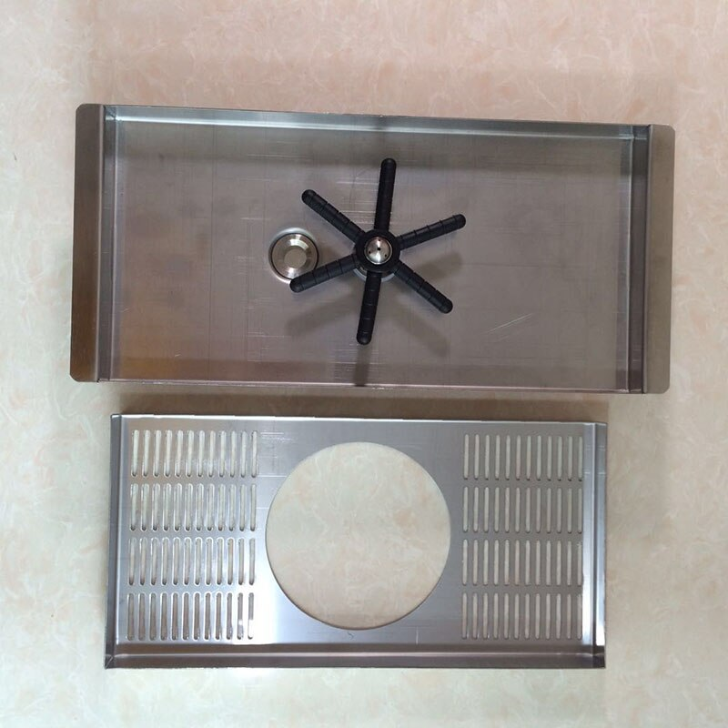 Drip Tray With Rinser