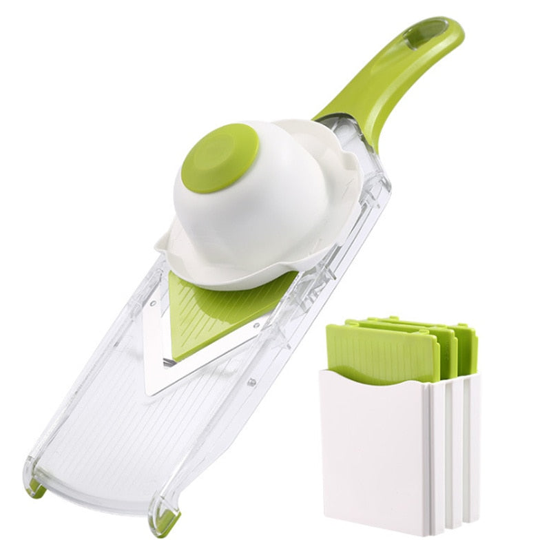 4 Blade Adjustable V Slicer
