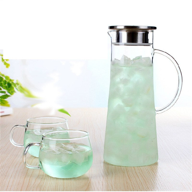 Great looking Glass Kettle - Golly Ideal Shop