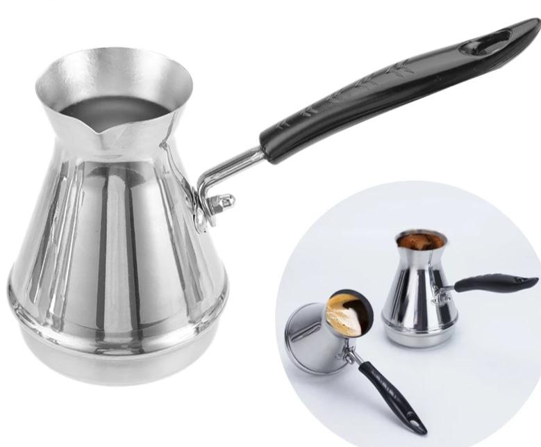 Stainless Steel Turkish Coffee Pot - Golly Ideal Shop