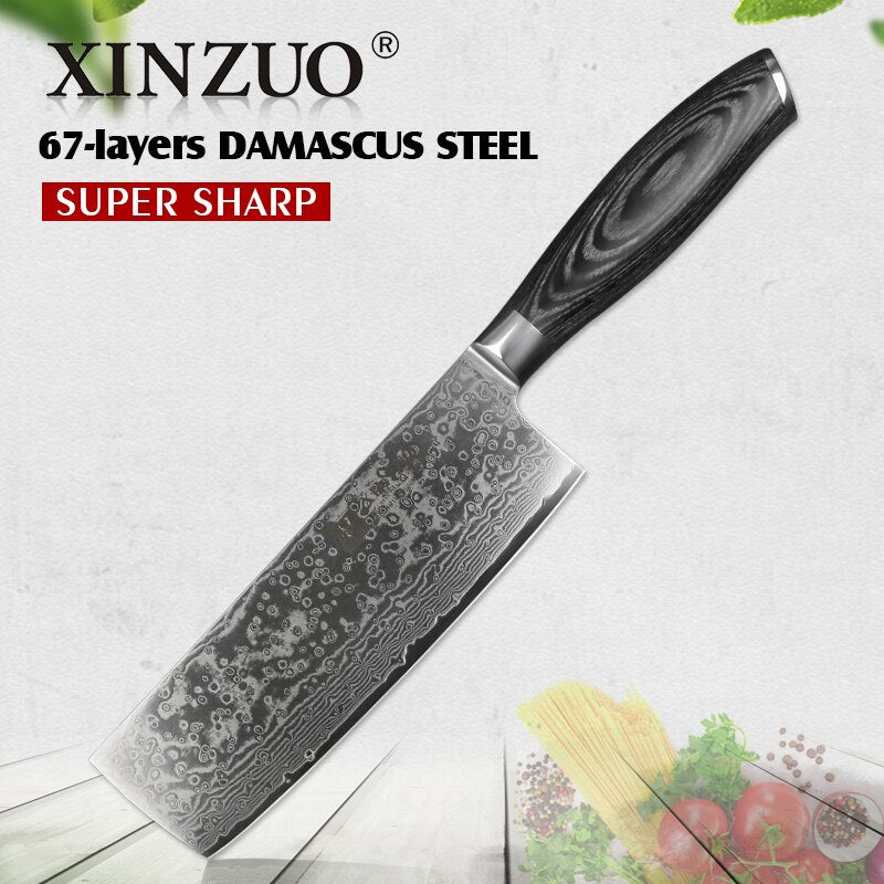 Nakiri Japanese Kitchen Knives - Golly Ideal Shop