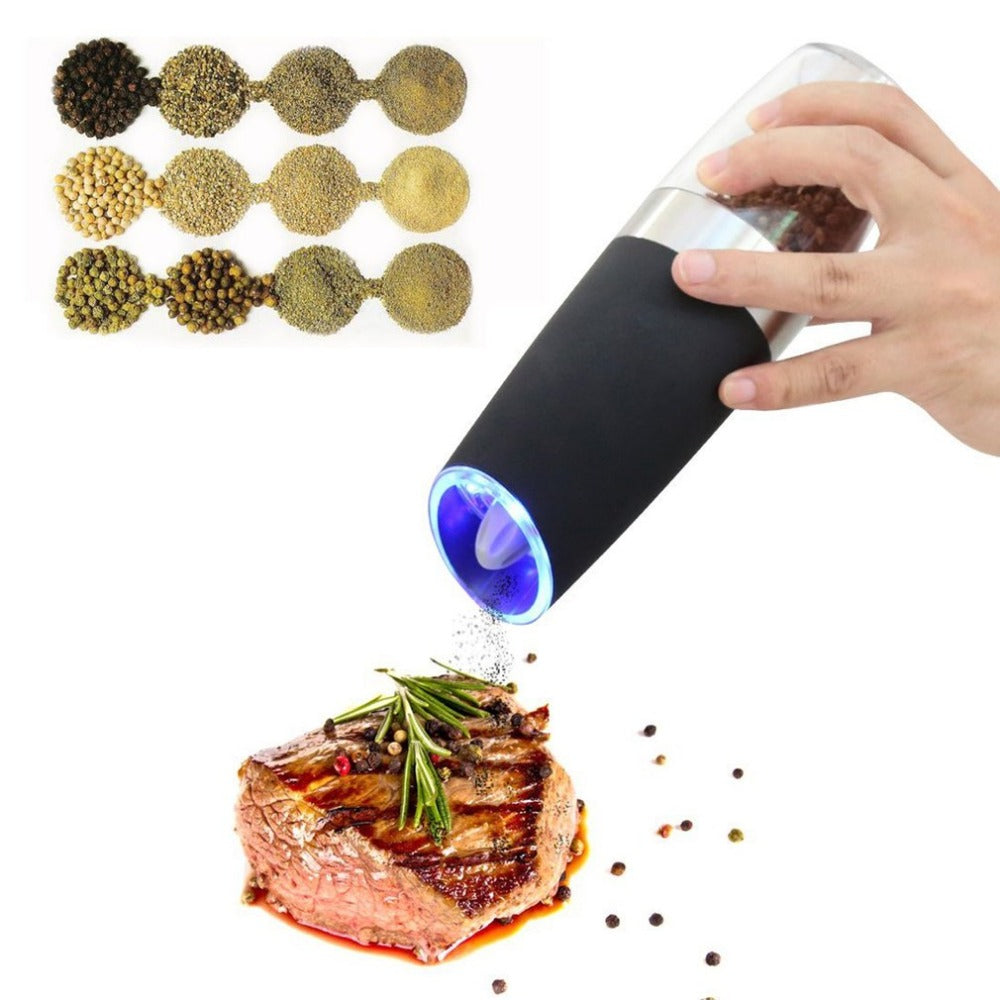 Electric Gravity Pepper Grinder - Golly Ideal Shop