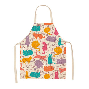 Parent-child Cat Apron - Golly Ideal Shop