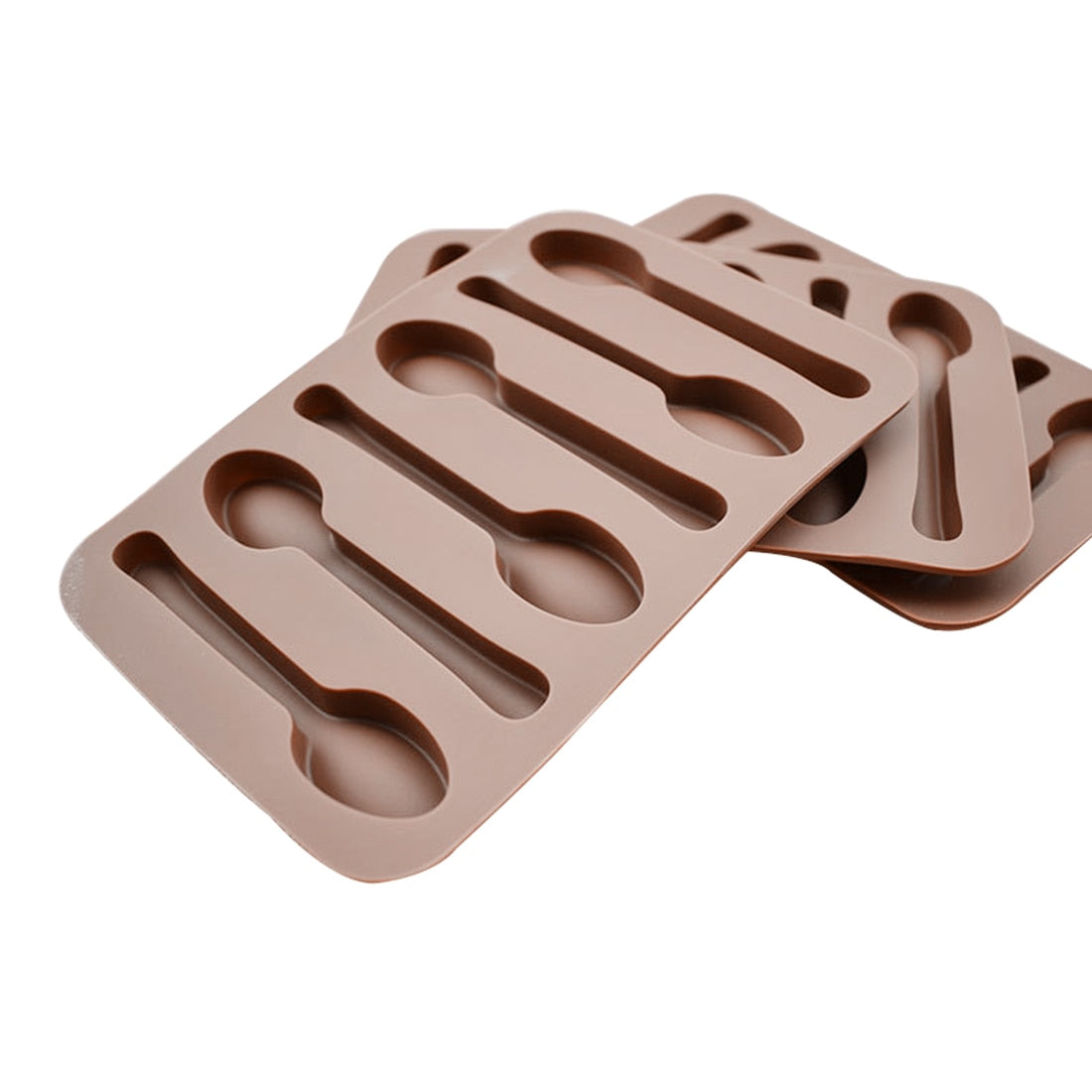 Spoon Shape Silicone Mold - Golly Ideal Shop