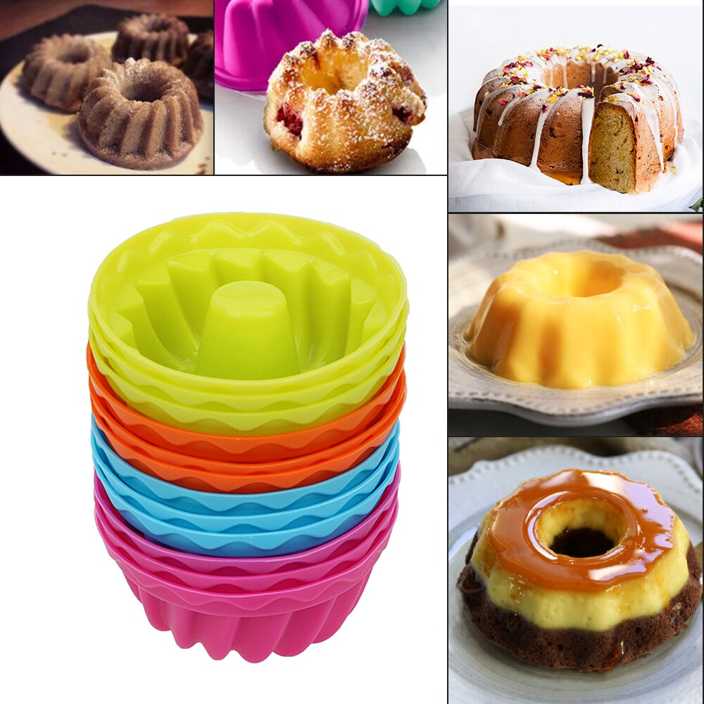 Pudding Muffin Donuts Mold (12 PCS Set) - Golly Ideal Shop