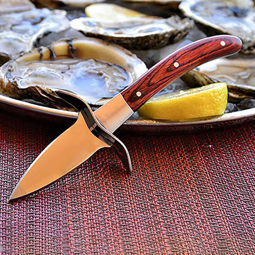Oyster Knife With Leather Case - Golly Ideal Shop