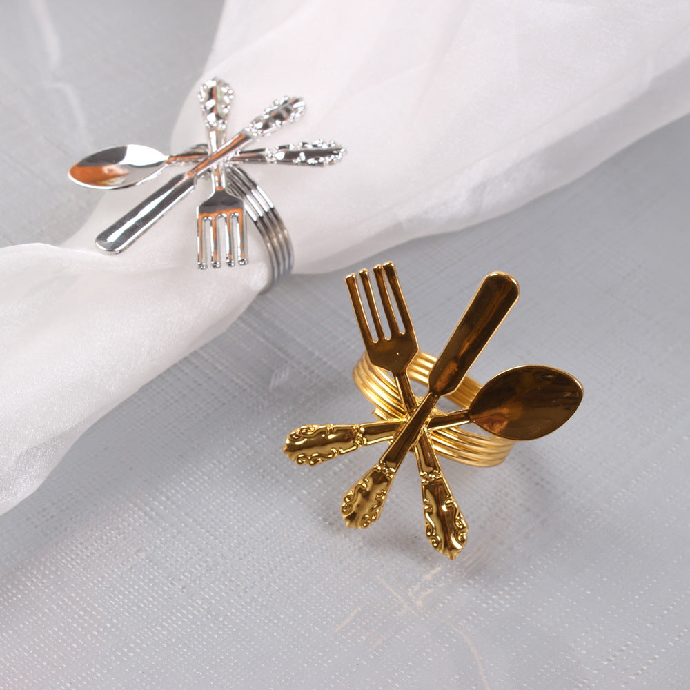 Cutlery Napkin Ring (12PCS/Set) - Golly Ideal Shop