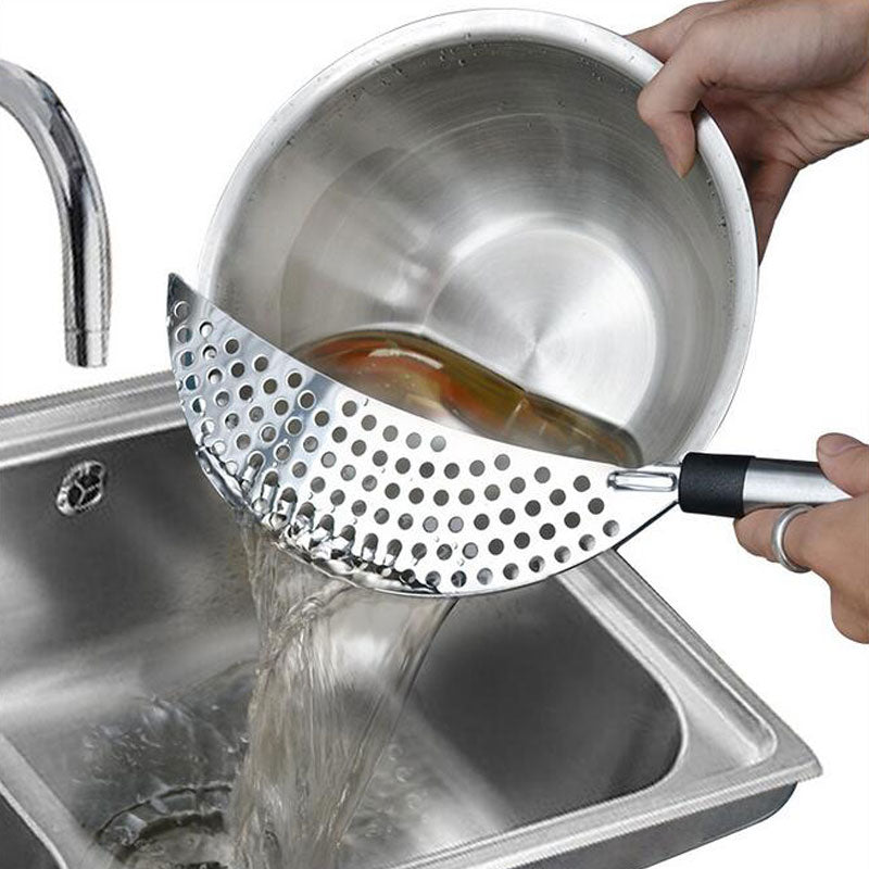 Stainless Steel Strainer With Handle