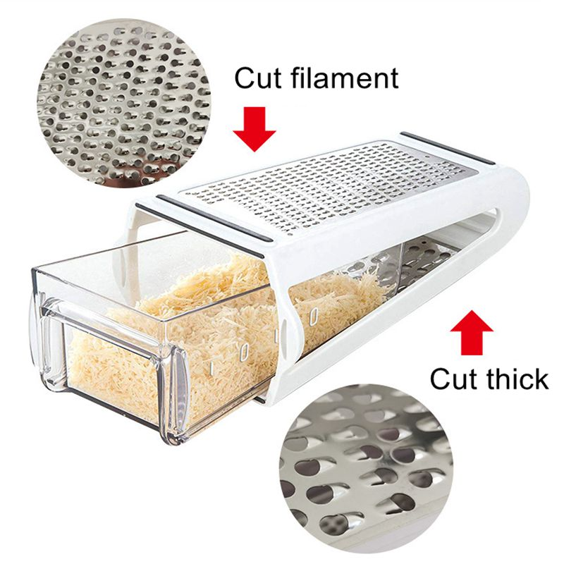 Double-sided Cheese Grater