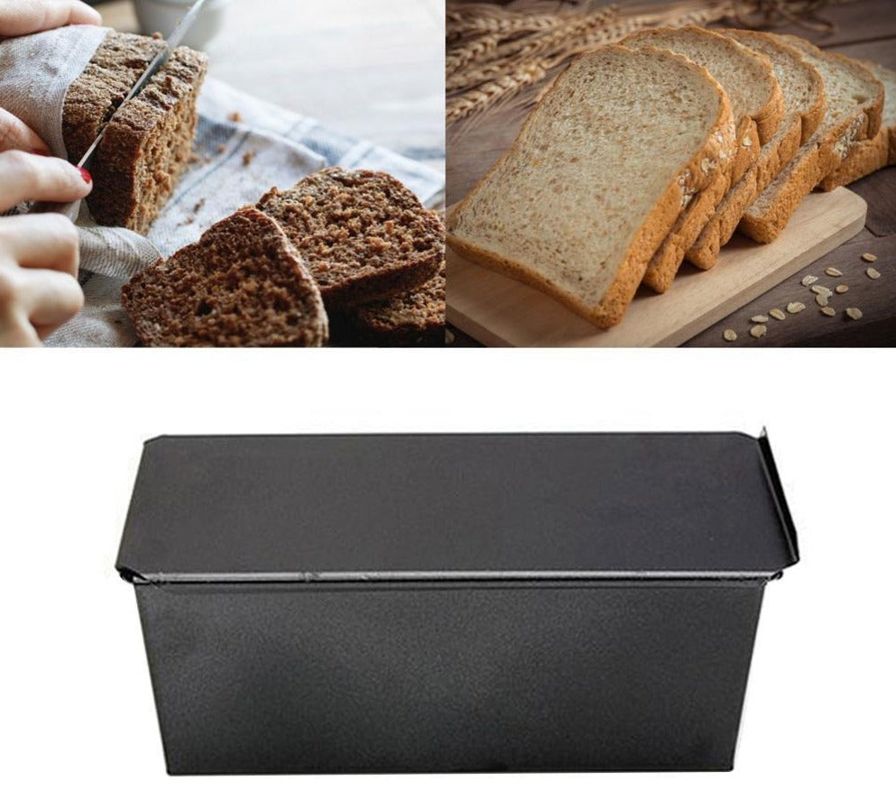 Non-Stick Toast Bread Mold With Lid (5 sizes)