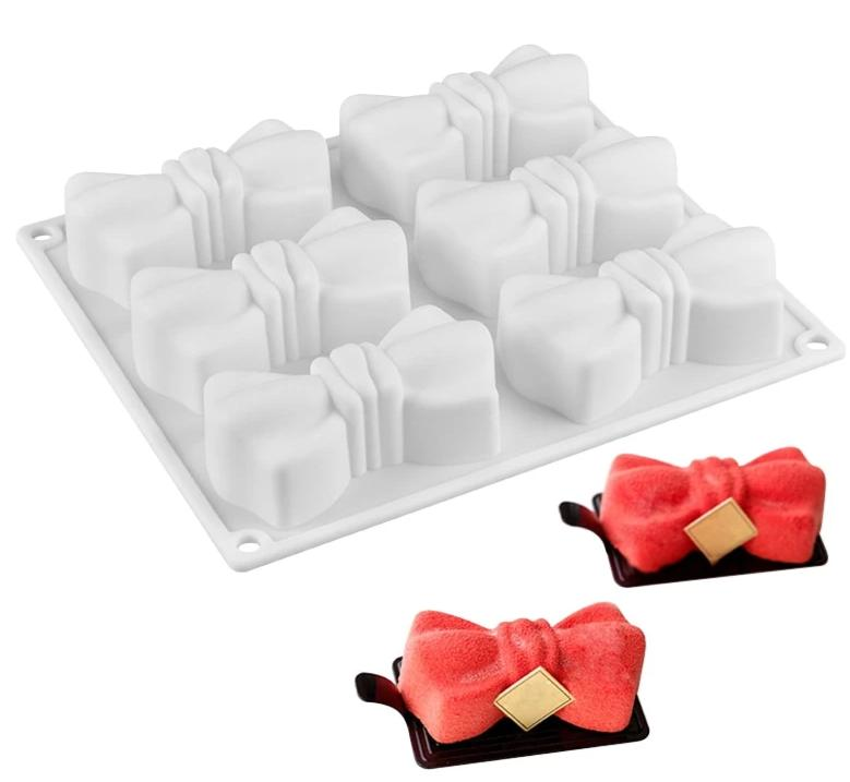 Bow Tie Shape Silicone Mold - Golly Ideal Shop