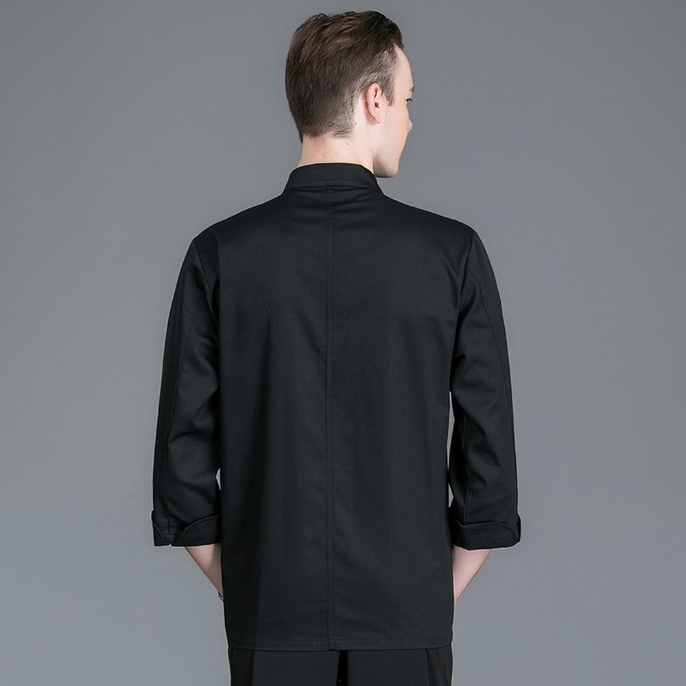 Single Breasted 3/4 Sleeve Catering Jacket