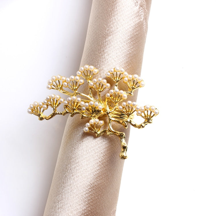 Pine Tree Napkin Ring (6PCS/Set) - Golly Ideal Shop