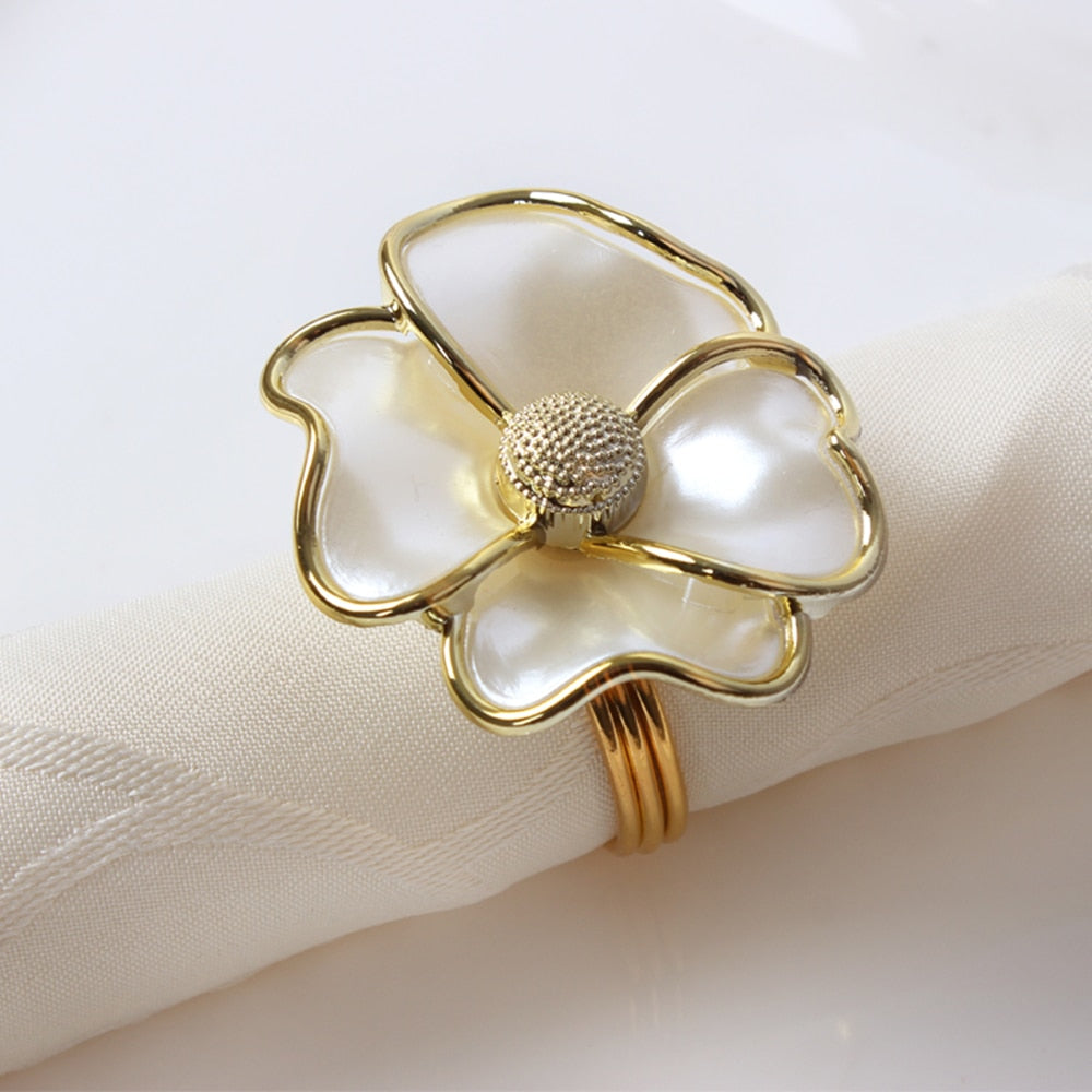 Flower Napkin Ring (6PCS/Set) - Golly Ideal Shop
