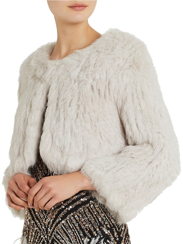Moss & Spy Fur Bolero Ms026051
