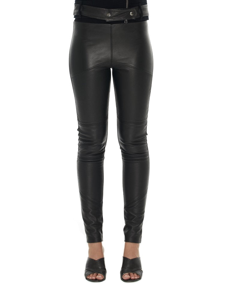 Sabatini Leather Panel Pant