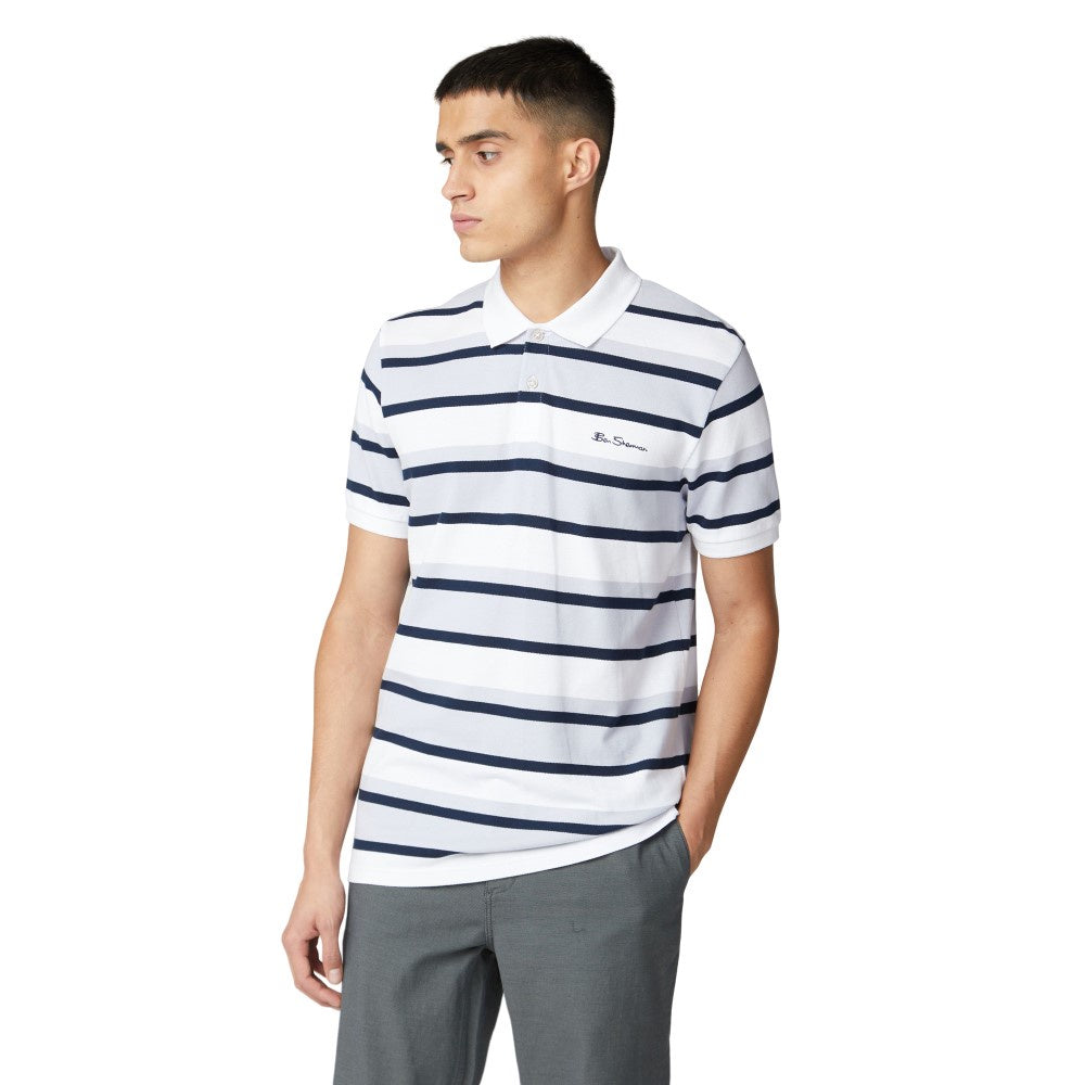 Ben Sherman Stripe Polo Bs0059320010
