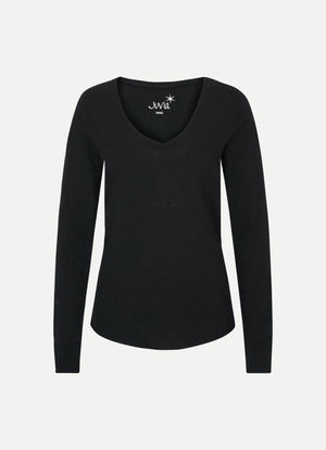 Juvia Long Sleeve V Neck Tee J81500115