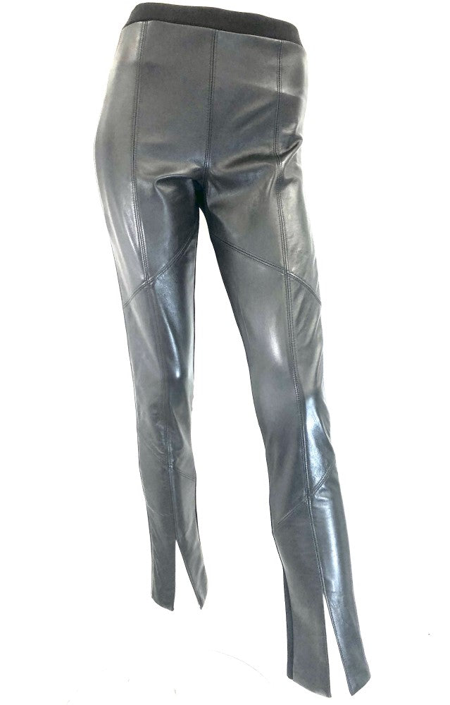 Sabatini Piped Leather Pant S73805