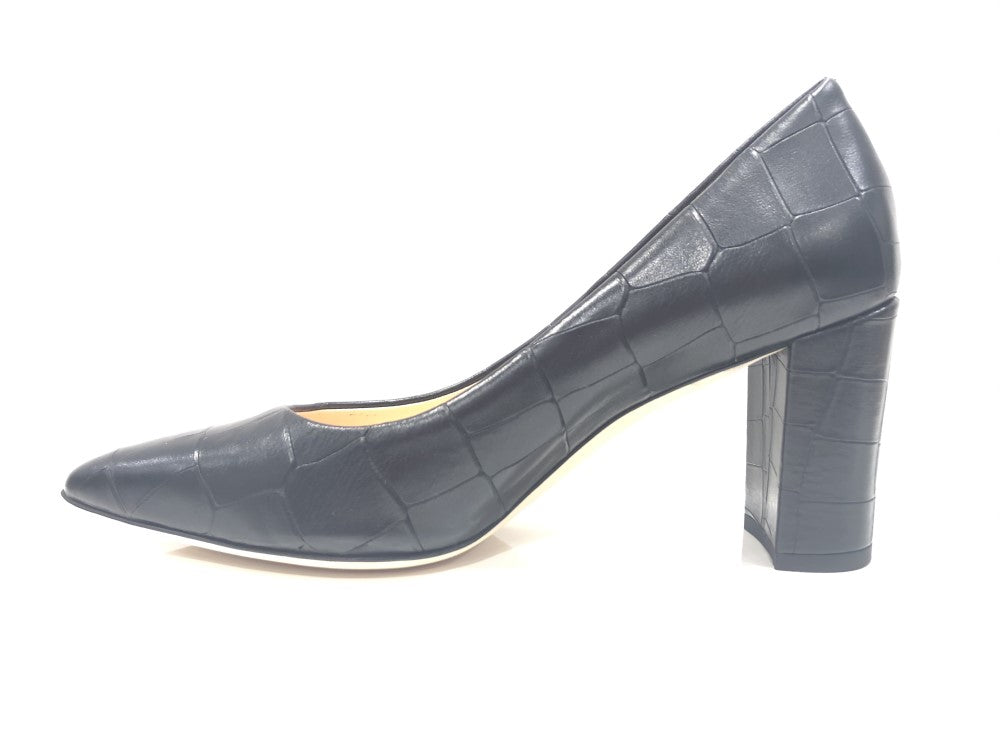 Marccain Stamped Leather Pump Nbsd03l07