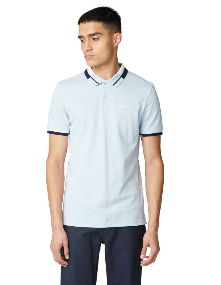 Ben Sherman Stripe Collar Polo Bs0059314120