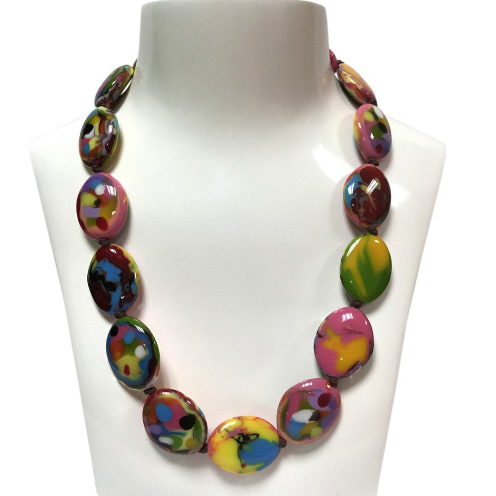 Jackie Brazil Small Riverstones Necklace N3750