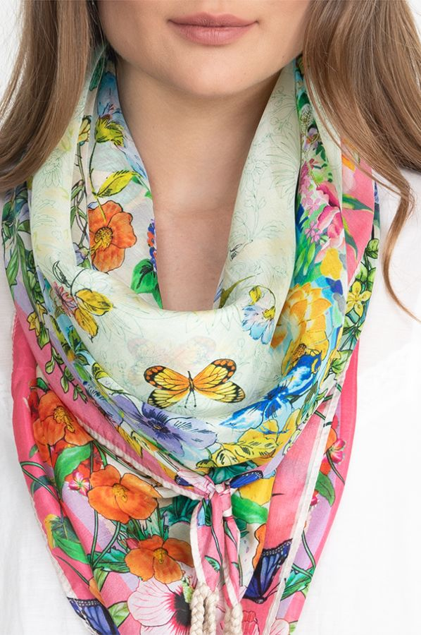 Johnny Was Kalila Scarf C98320-4