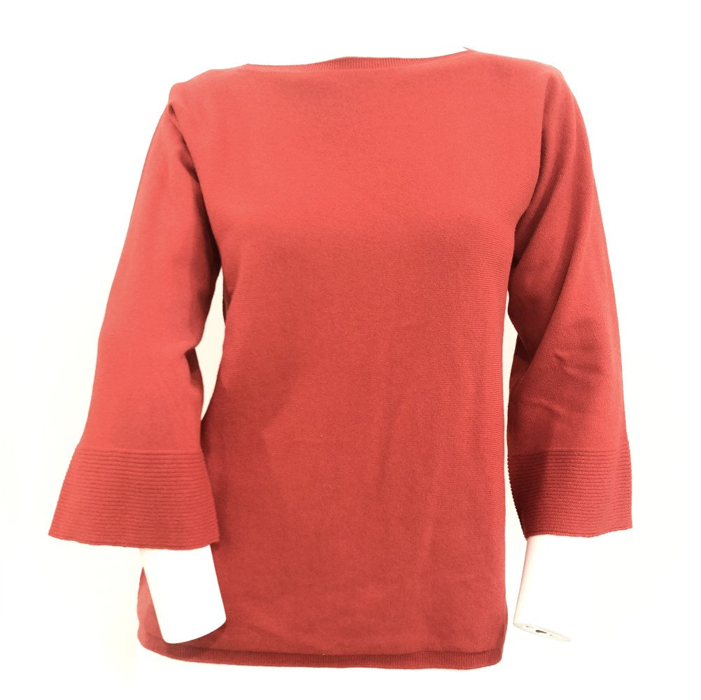 Gran Sasso Boat Neck Oversize Knit Top Gs54238/12847