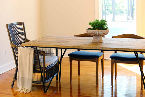 Modern Rustic Dining Table | THOMAS