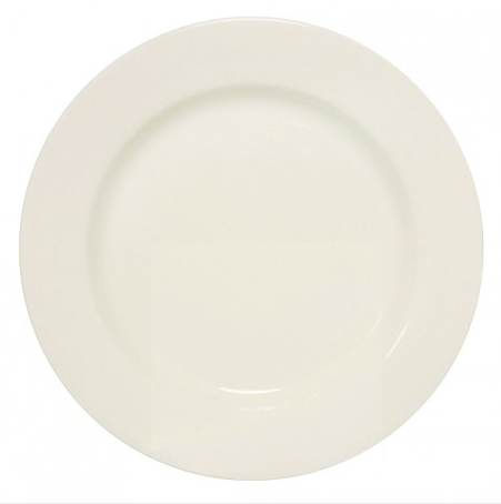 "Dinner Plate | FE WHITE 11 1/8"" - The Estate of Things"