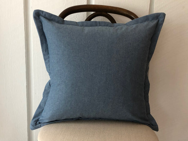 Vintage Chambray Pillow | MEDIUM 20x20
