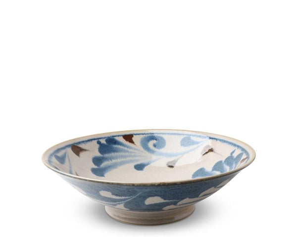 Rustic Blue Vines Serving Bowl