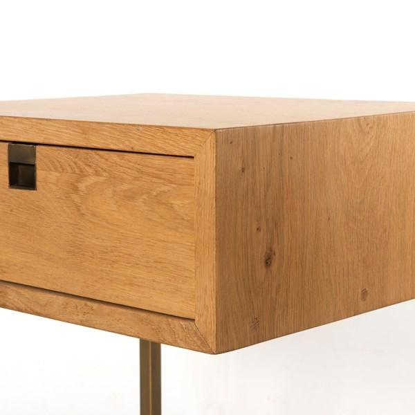 Modern Oak Nightstand | Clemmons
