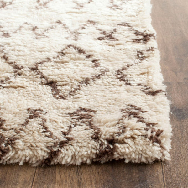 Wool Moroccan Inspired Shag Rug | HOLLIE
