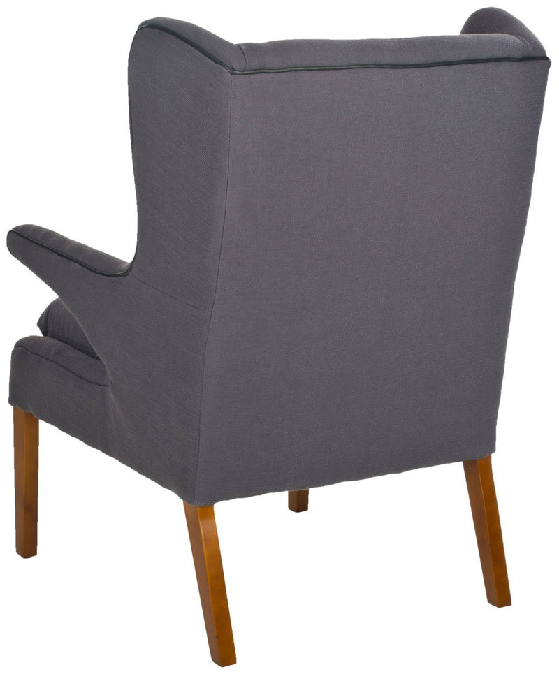 Upholstered Modern Wingback Chair | LOUIS