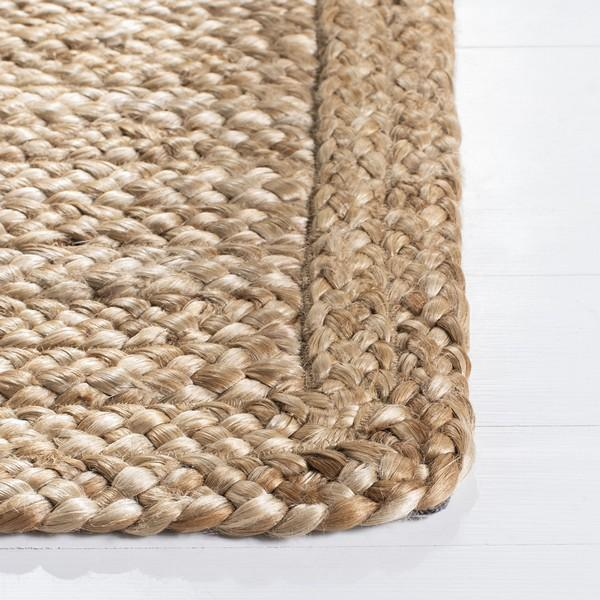 Natural Chunky Braided Jute Rug