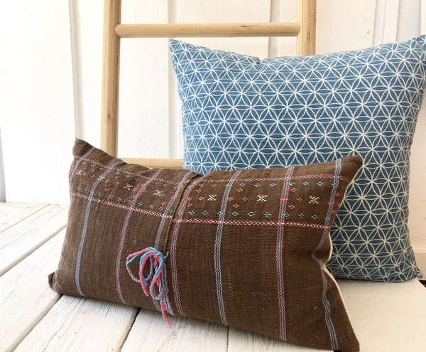 Hmong Hemp Pillow | Corolla 12x20
