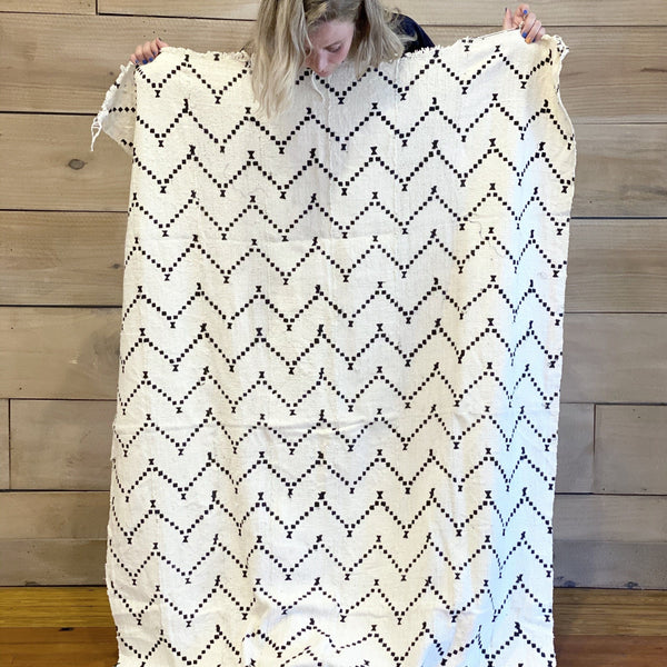 African Mudcloth Textile | ZIG ZAG