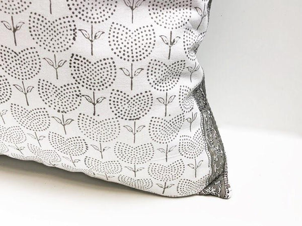 Indian Block Print Pillow | BECCA 22x22