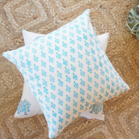 Indian Block Print Pillow | DESIREE 20x20
