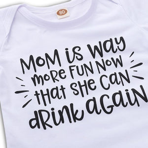 Mom Can Drink Again Onesie