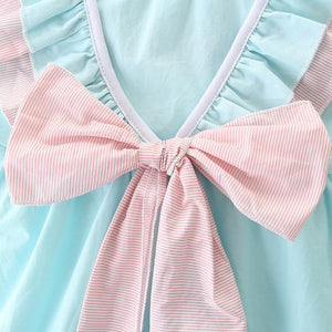 Bow Frilled Kleid