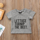 Lettuce Turnip Beet T-shirt and Onesie