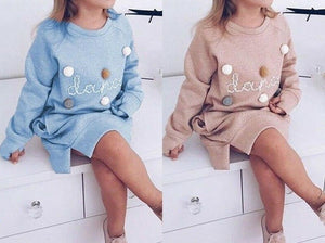 Tanz Oversized Pom Pom Sweater