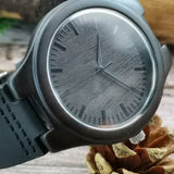 To My Boyfriend My Happily Ever After Leather Wooden Watch