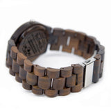 My Man You Make Me A Better Person Black Wooden Watch
