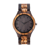 To My Husband 2AM Black & Yellow Wooden Watch